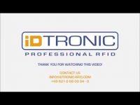 iDTRONICs RFID Desktop Reader EVO HF 2.0: HID oder VCP – Einstellbare Datenausgabe