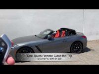 SmartTOP Zusatz-Verdecksteuerung für den neuen BMW Z4 Roadster jetzt erhältlich
