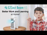 Der 1080p Beam H3-Projektor von EZCast: Der ideale Projektor für Freizeit und das Lernen zu Hause