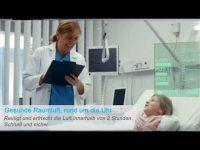 Pandemie-Prävention – Deckenpanel kombiniert hocheffizienten Luftreiniger mit LED-Beleuchtung